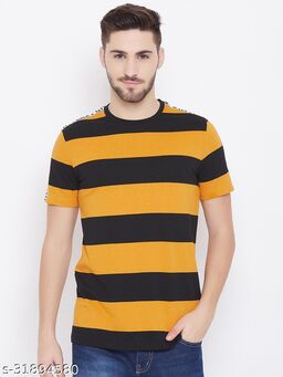 Austtin Wood Men's Multi Round Neck T-Shirt