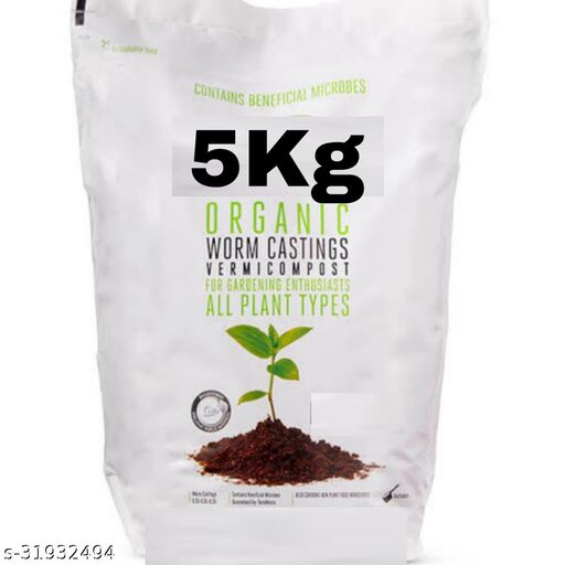 100% organic vermicompost 5kg