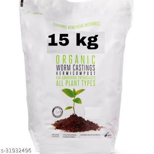 100% organic vermicompost  15kg