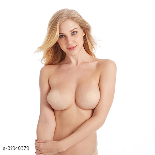 Keddy Nipple Cover Silicon Stick ON bra Aleart Nipple solution
