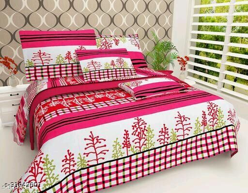 3D Printed Polycotton Double Bedsheet