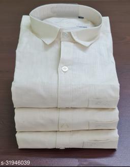 Venga Cotton Linen Full Sleeves Men Shirts