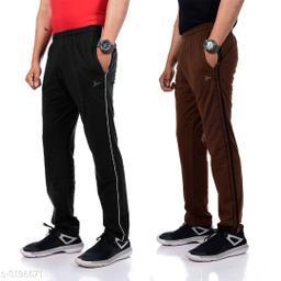 Zeffit Stylish Pc Cotton Men's Track Pants Combo
