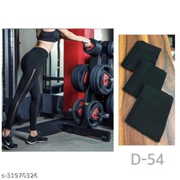 Sheer panelled leggings,track pants,Homewear dryfit lower by High-Buy-Free Size(28-34 waist, length-37)- D 54