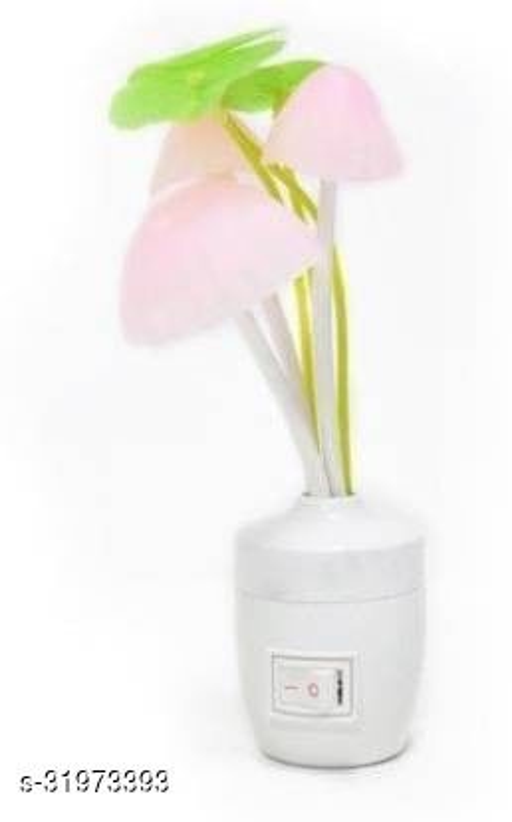 Fancy Mushroom Shape Automatic Sensor LED Colour Changing Light Night Lamp