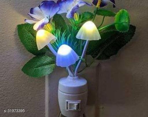 Romantic Flower Mushroom LED Night Light Sensor Color Changing LED Sensor Night Lamp