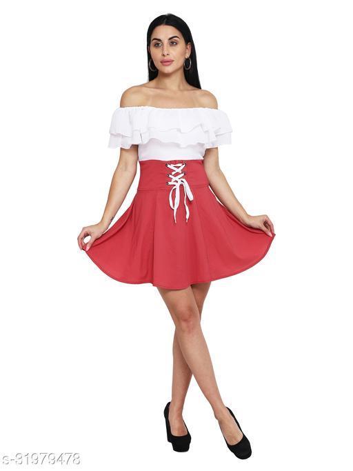 LADYANA PINK OFF SHOULDER DRESS