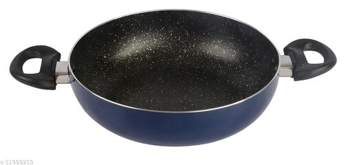 ETHICAL MASTREO Series Non-Stick Gas Compatible Kadhai 26 cm without Lid