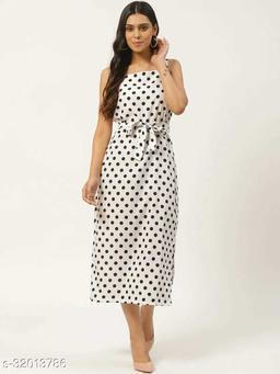 Women Striped A-Line Dress