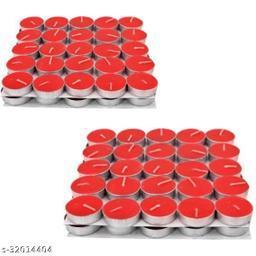 Red Rose Color T-light Pack of 100