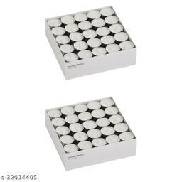 White T-light Pack of 50