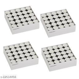 White T-light Pack of 100
