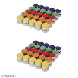 Multi color T-Light Pack of 100