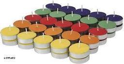 Multi color T-Light Pack of 50