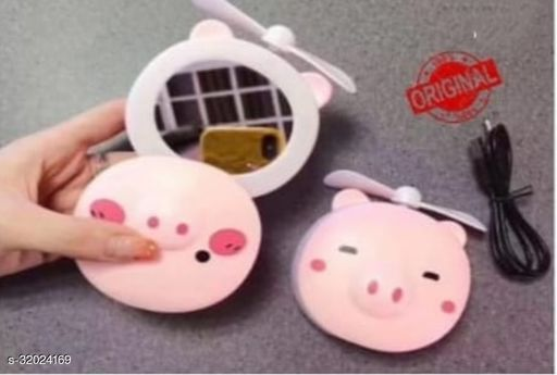 MAKEUP MIRROR WITH FAN