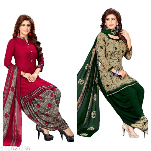 fashion_lady womens most tranding suits materials(pack of 2)