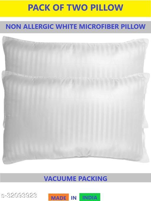 Z-JAIP Premium Reliance Soft Fiber Bed Pillow Size 16*24 Set of Two