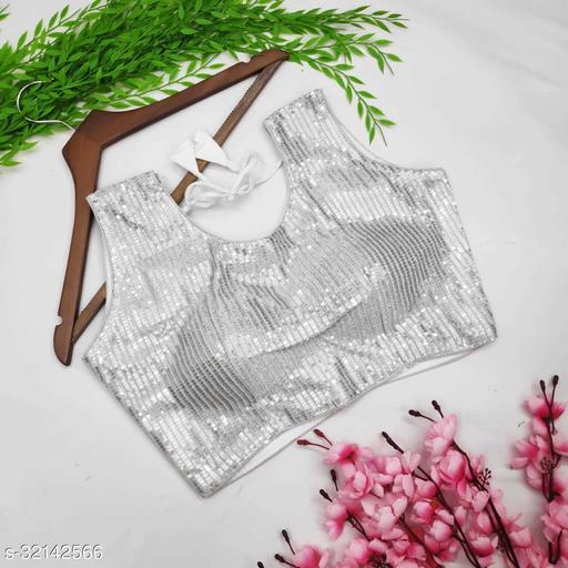 Chirag International  stylish Embroidered Cotton Blouse
