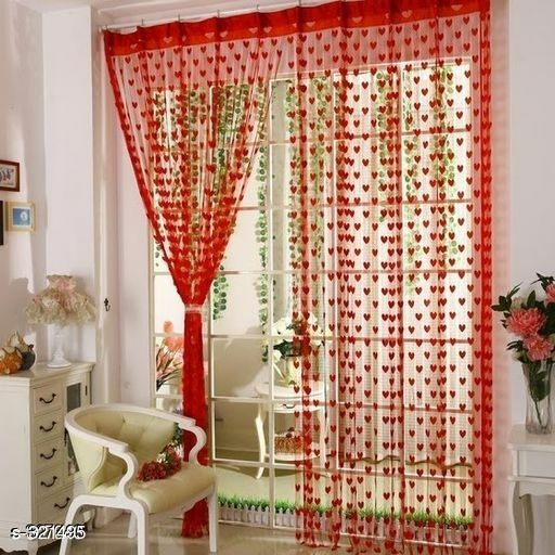 Trendy Polystar Curtains Pack Of 2