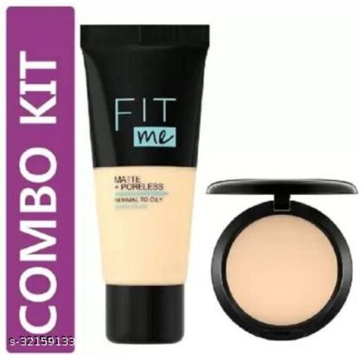 EVERERIN STUDIO FIX COMPACT POWDER WITH FOUNDATION COMBO(2 Items in the set)