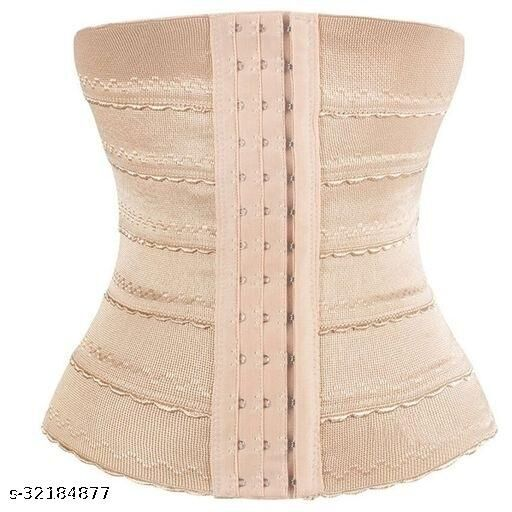 Air Breath Tummy Grip Belt Waist Trainer Trimmer and Slimming Corset Girdle with Wire Support