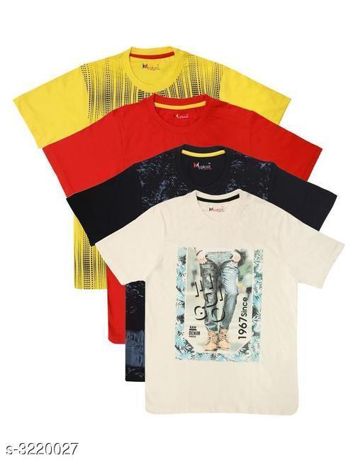 Stylish Cotton Kid's Boy's T-Shirt