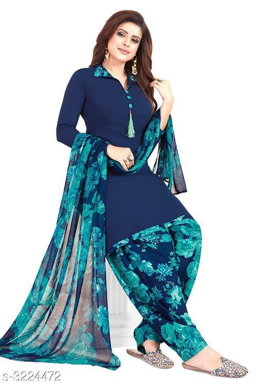 Tia Marvellous Synthetic Women's Suits & Dress Materials