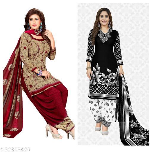 nirbhaya fancy dress materials(pack of 2)
