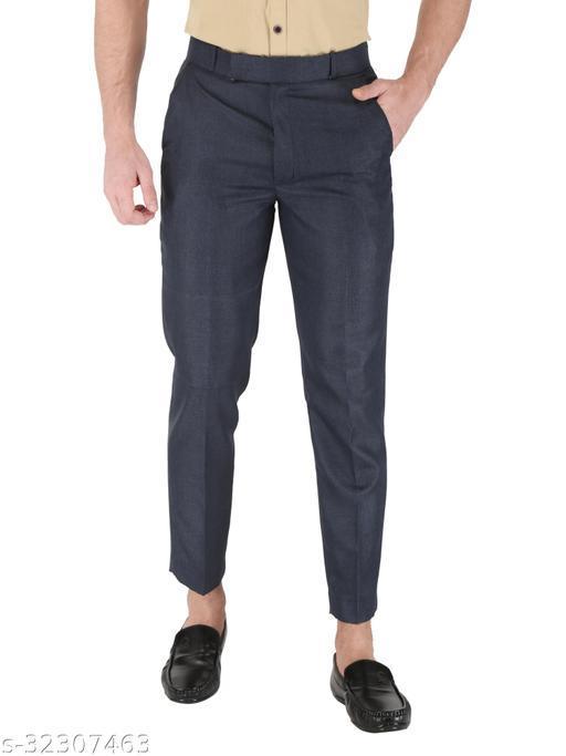 K.S.Brand Blue Formal Trouser Regular Fit