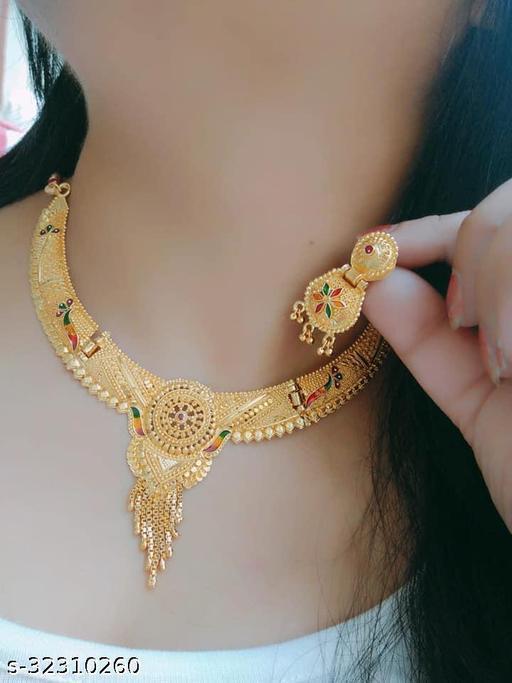Gold Jewellery set for women