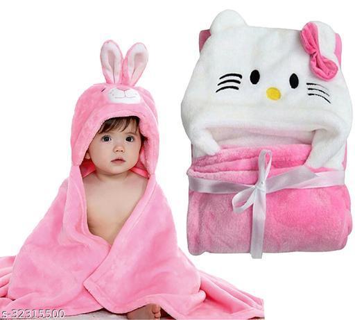 MY NEWBORN baby towel for all season baby blanket baby sleeping bag premium quality (Unisex-0-6 months)-Multicolor