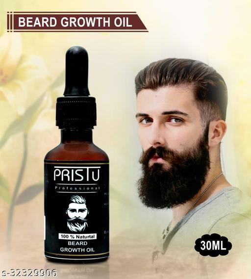 Pristu Professional Beard Growth Oil Pack of 1 (30ml)