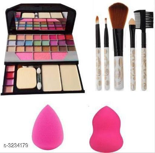 TYA Makeup Kit 6155 + 2 Puff with 5 Pcs Makeup Brush