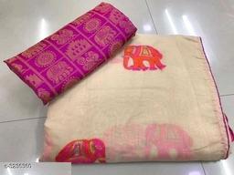 Trendy Chanderi Cotton Sarees