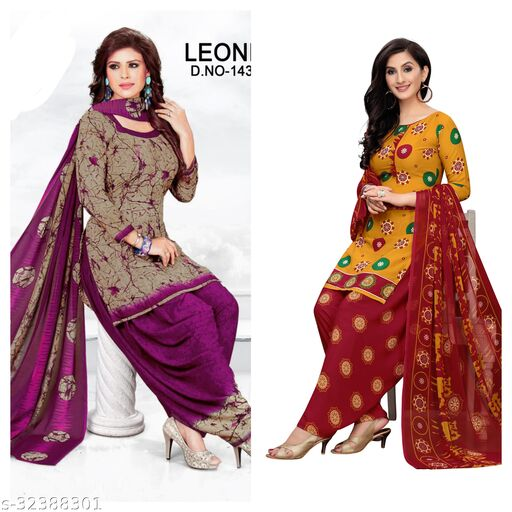 cloudy fashion suits material(pack of 2)