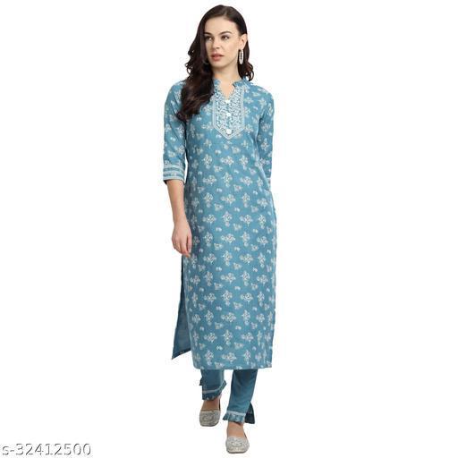 Madhuram Textile Printed Cotton Kurti with