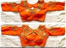 Beautiful Designer Banglori Silk Blouse