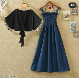 Trendy Crepe Dresses