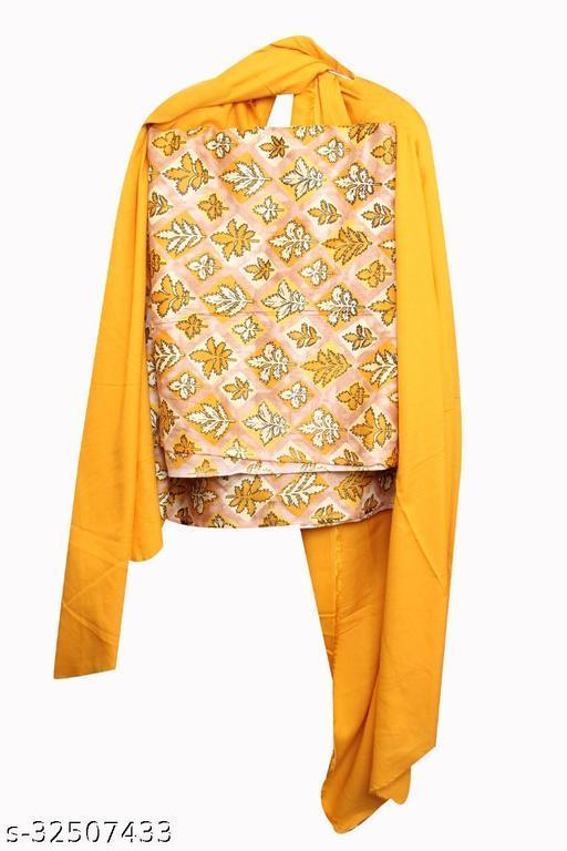 SuperB Women Cotton reyon Dupatta and Salwar