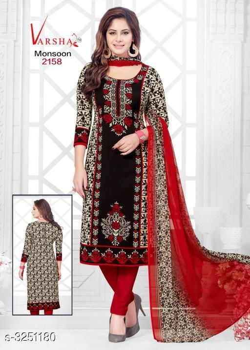 Stunning Attractive Synthetic Suit & Dress Materials