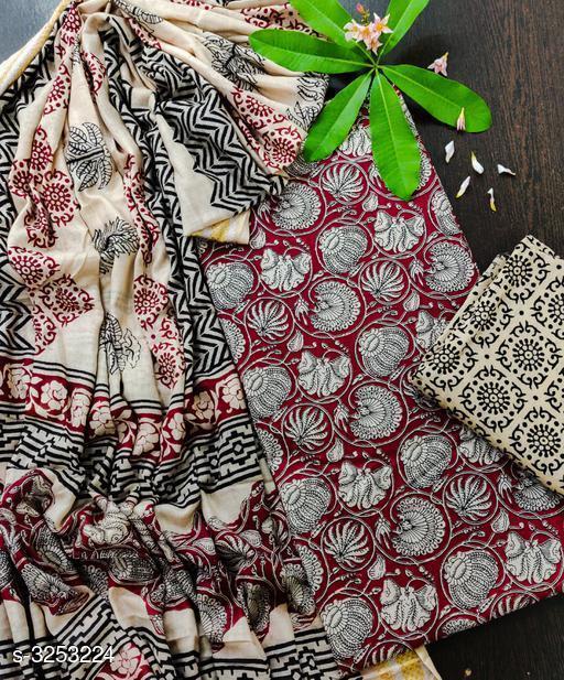 Arya Fancy Soft Cotton Suits & Dress Materials