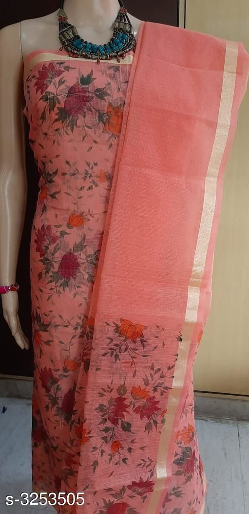 Jiya Attractive Kota Doria Cotton Suits & Dress Materials