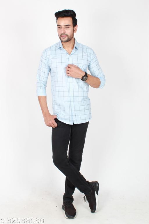 Fashions Men Causal Cotton Light   Shirt