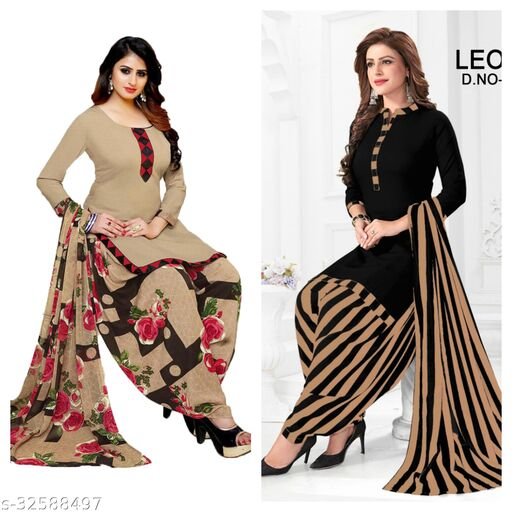 designer latest tranding suits material(pack of 2)