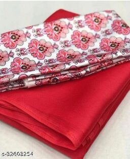 rudra enterprise prasent Saree Fabric: Poly Chiffon, Blouse: Separate Blouse Piece, Blous/e Fabric: Satin Silk, Blouse Pattern: Printed.