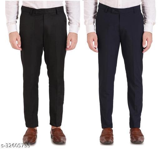 Mens Ragular Fit Formal trousers