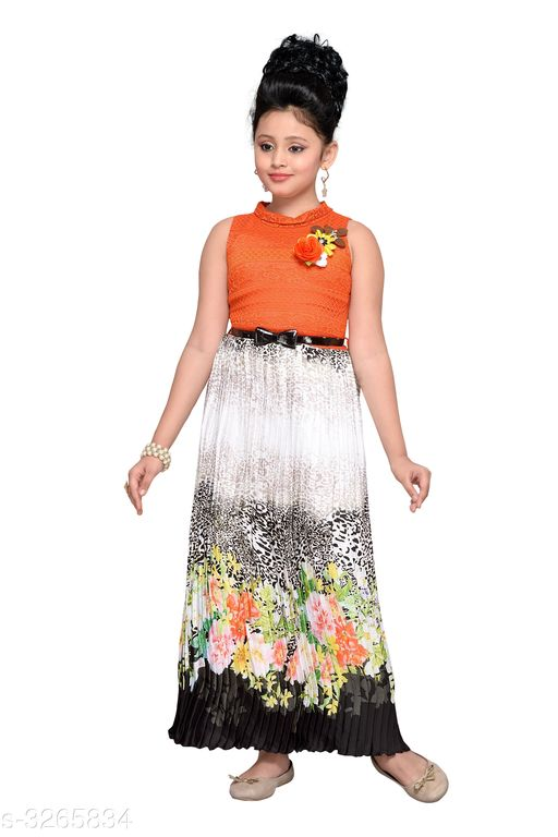 Frocks & Dresses Charming Kid's Girl's Dress  *Fabric* Imported Polyester  *Sleeves* Sleeves Are Included  *Size* Fabric  *Sleeves* Sleeves Are Included  *Size* Age Group (5 - 6 Years) - 26 in Age Group (6 - 7 Years) - 28 in Age Group (7 - 8 Years) - 30 in Age Group (8 - 9 Years) - 30 in  *Type* Stitched  *Description* It Has 1 Piece Of Kid Girl's Dress  * Pattern* Solid  *Dispatch* 2 – 3 Days  *Type* Stitched  *Description* It Has 1 Piece Of Kid Girl's Dress  * Work* Printed  *Sizes Available* 5-6 Years, 6-7 Years, 7-8 Years, 8-9 Years, 10-11 Years *   Catalog Rating: ★3.7 (24)  Catalog Name: Princess Charming Kid's Girl's Dresses Vol 8 CatalogID_450966 C62-SC1141 Code: 594-3265834-