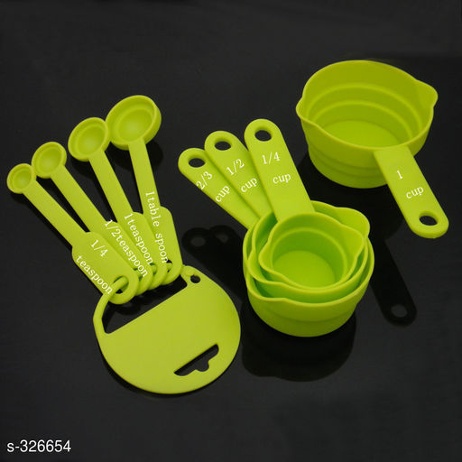 Delightful 8 Pcs easuirng Spoon And Cup Set
