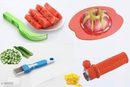 Delightful Apple Cutter Corn_ Cutter Multi Blade Veg Cutter Watermelon Slicer And Cutter