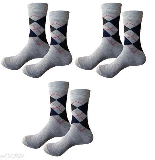 Trendy Cotton Men's Sock